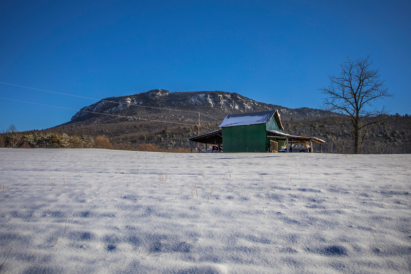 Moore's Knob Snow