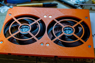 Rosewill RSV L4000B front fans