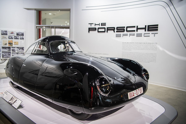 Petersen Museum Porsche Exhibit