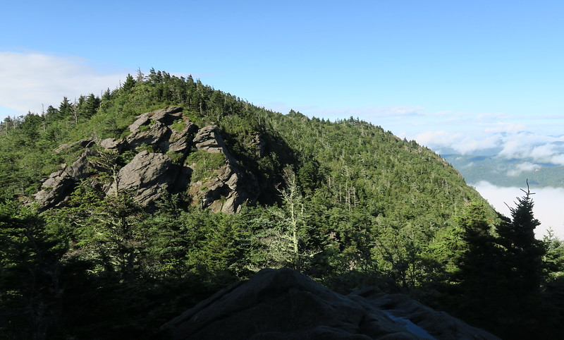 Grandfather Trail -- The Patio -- 5,340'