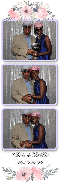 Chris & Gabbie Wedding Photo Booth Pictures