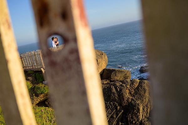 Maya + Michael @ Pigeon Point Lighthouse, Pescadero
