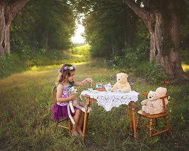 A's Teddy Bear Tea Party