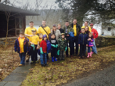 Red Clay Creek Clean Up - 2014