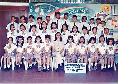 Class Photos SY 2004-2005