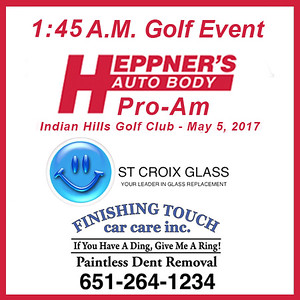 Heppner's Pro-Am 1:45 Golf Event, May 5, 2017
