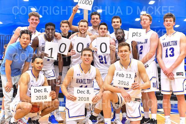 Hamilton Men's Basketball v Elmira 12-8-18