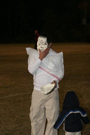 PA powder puff Football 2008 Sr vs Jr