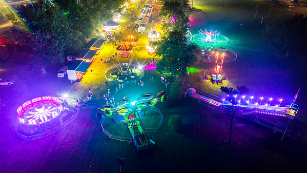 Broadview Heights Home Days Night Drone Photos