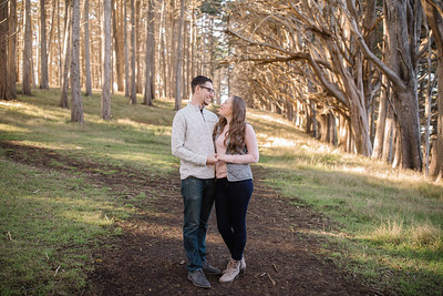 ALEXA AND NICK ENGAGEMENT SESSION