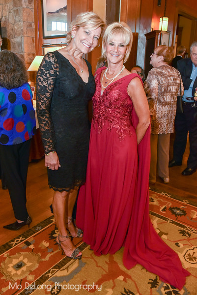Soraya Aughney and Kathleen Woodcock