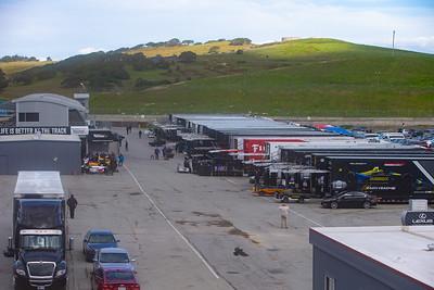 2019 Indycar test at WeatherTech Raceway Laguna Seca