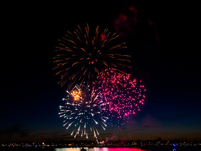 Fireworks From Boat 7-3-17