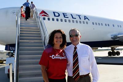 Delta Flight to Orlando