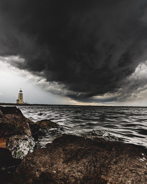 Lake Hefner Storms 2019