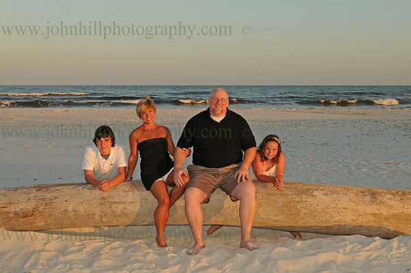 Bradley White Family Beach Portraits