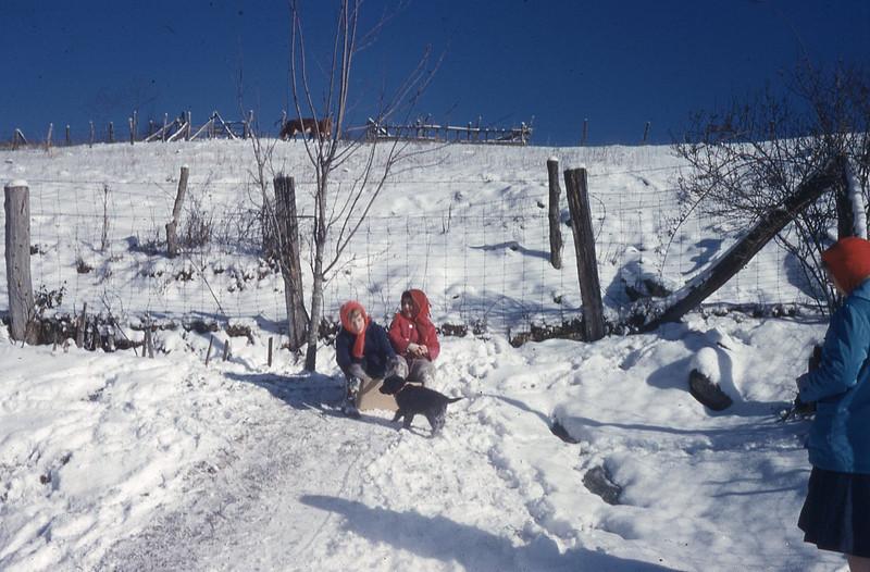undated-''DORIS AND SUE IN THE SNOW''.jpg