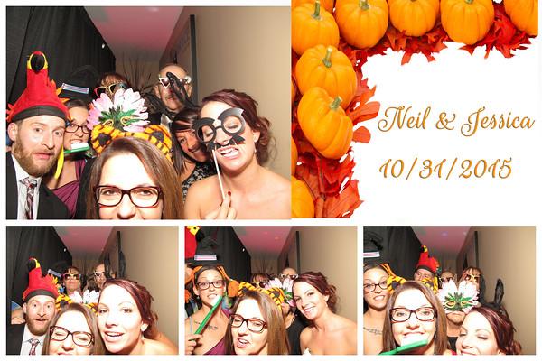 Jessica & Neil Wedding Photo Booth