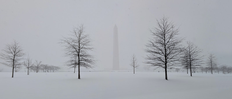 Washington D.C. in the Snow