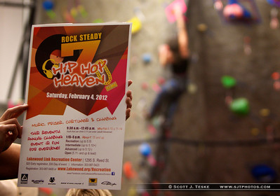 Rock Steady 7 Lakewood Climbing Competition