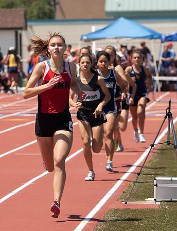 Girls 800 Meter Prelimis