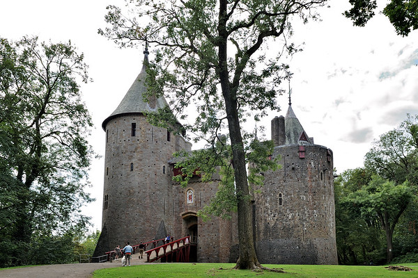 Castell Coch – August 2019