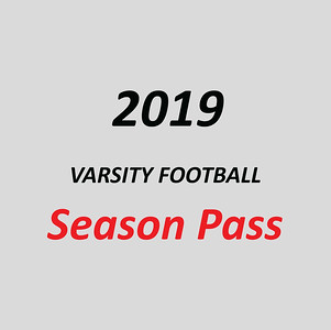 2019 Varsity Football Season Pass