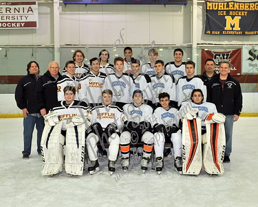 Mifflin/Exeter/Hamburg Senior Night vs SV/CW/GS/Cocalico Ice Hockey 2017 - 2018