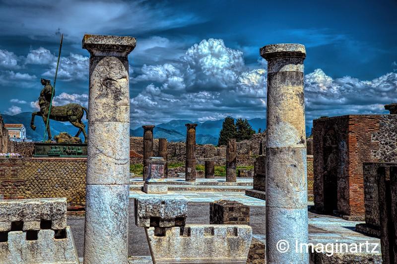 The Legendary Pompeii, Italy
