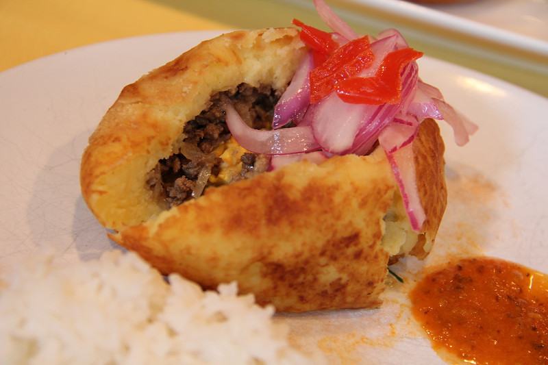 Peruvian Cooking Class May 16, 2012: Papa Rellena