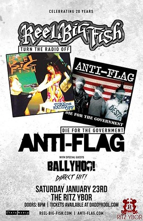 Reel Big Fish & Anti-Flag
