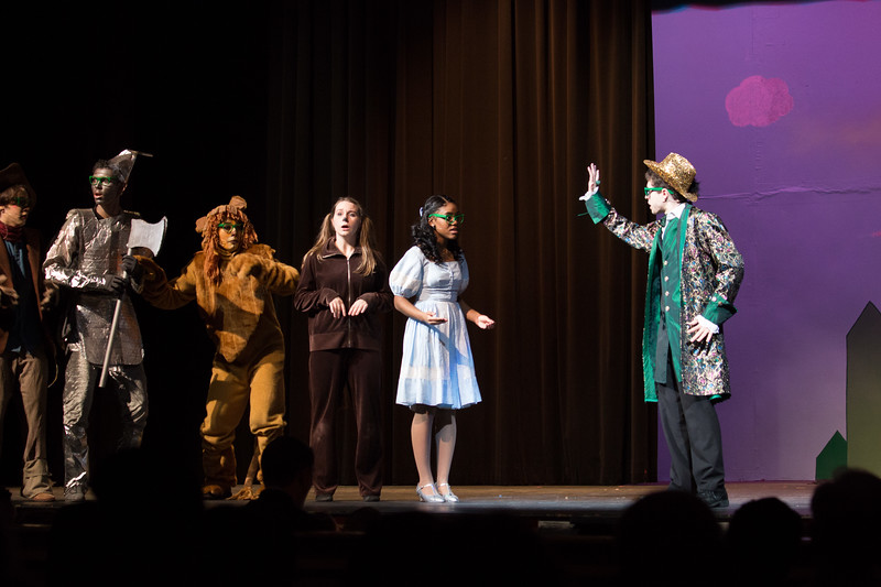 """So You Wanted to Meet the Wizard"" -- ""The Wiz"", Montgomery Blair High School spring musical, March 26, 2017"