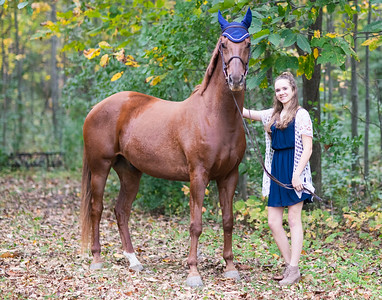 Claire Strehlow and Major