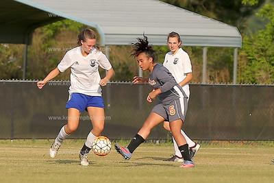 East girls soccer 2017 senior night game
