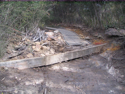 Manly Dam Track Work Day 29/7/07