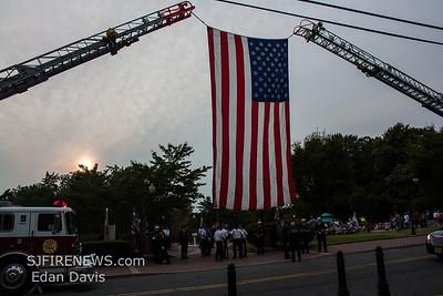 Millville, Cumberland County NJ,  9/11 Memorial 2017