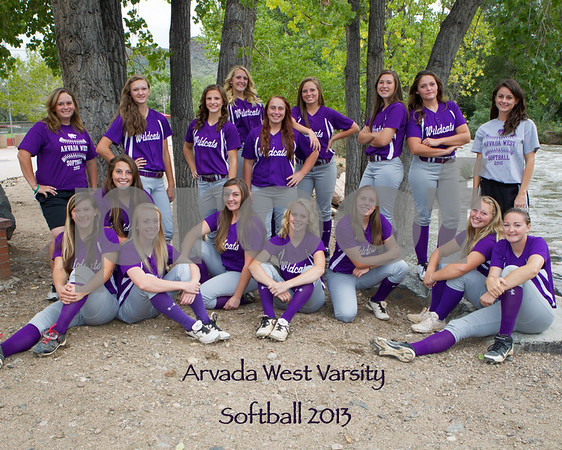 Arvada West Softball Varsity 2013