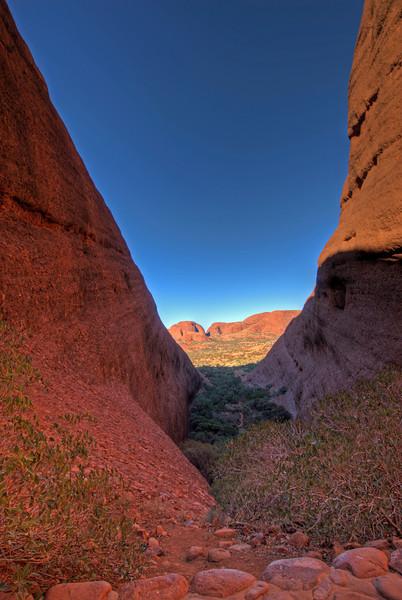 Kata Tjuta HDR - Northern Territory, Australia
