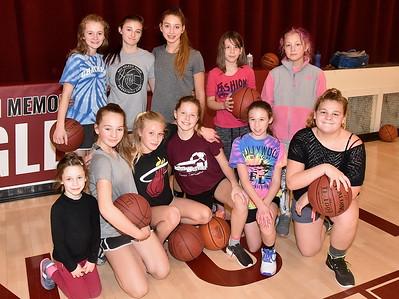 A Peek At Practice…AMHS M.S. Girls Basketball photos by Gary Baker