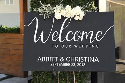 9-22-2018 Abbitt & Christina's Wedding @ Huntington Beach