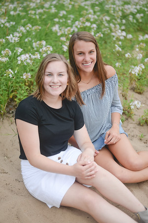 Seniors Emily and Claire