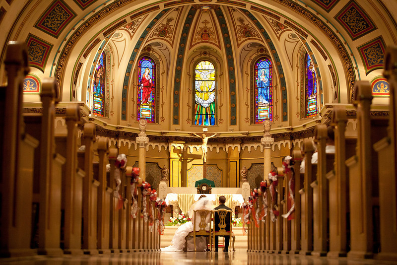 Picture taken at the Beautiful St. Johns Cathedral http://www.stjohnsparishboise.org/