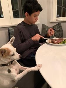2020.01.12 Steak dinner