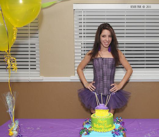 Erica's Birthday Bash  12/16/2011
