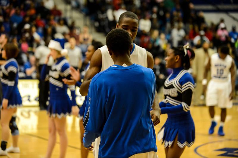 Basketball Varsity vs  Crowley 12-11-13-23