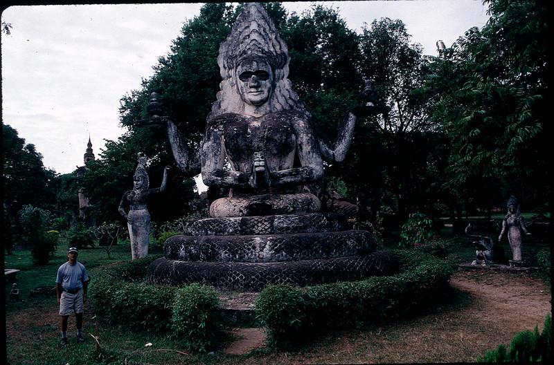 sculpture park in Vientiane