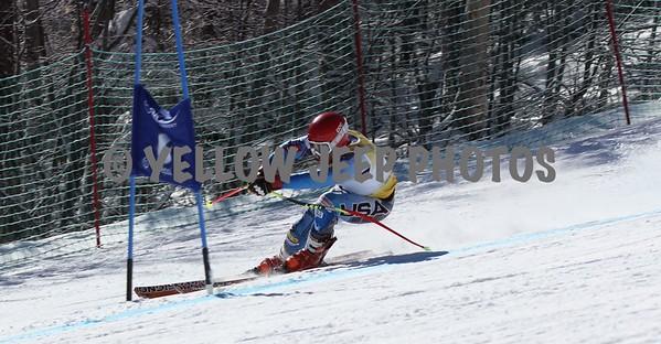 2/26/16 NE Masters Super G on Chief at Okemo First Run