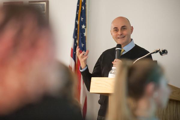 Dr. Torrecilha Addresses SGA, Nov. 2018