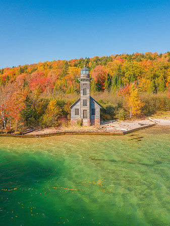 Grand Island East Channel Light