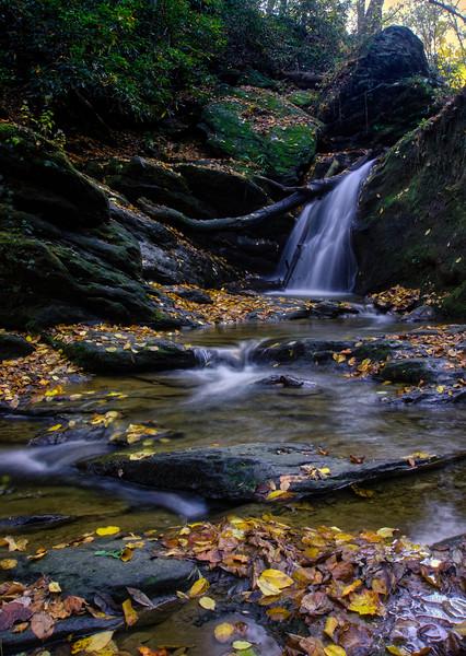 Mill Creek Falls in Autumn